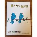 Oscar's Easter card - thank you Oscar!