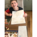 Benjamin's insect research.