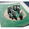 Rosie made a model of Stonehenge.