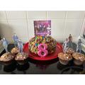 Ruby M's 8th Birthday cake