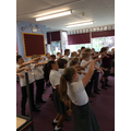 See the Year 5 class pages for more photos.