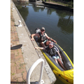 George and his dad going Kayaking