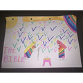 Millie's Bible cover design
