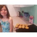 Jessica's baking :)
