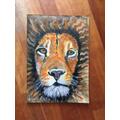 Oscar's lion