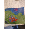 Ben has painted a picture of Stonehenge
