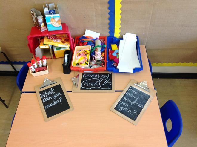 Our creative area