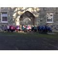 Castle arches