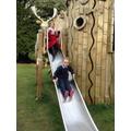 Castle playground fun!