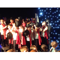 What great snowmen, singers and performers we are!
