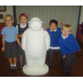 We can't wait to start decorating our Snowman