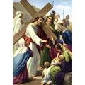8. Jesus meets the women of Jerusalem.