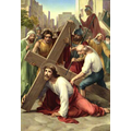 3. Jesus falls the first time.