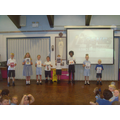Children demonstrated the popular dance moves