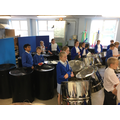 Year 6 steel pans lesson
