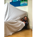 Art free choice - making a fort