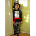 Fancy dress Friday pirate