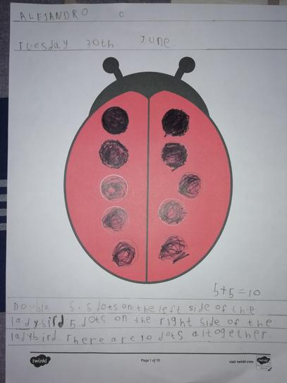 Ladybird Doubling by Alejandro