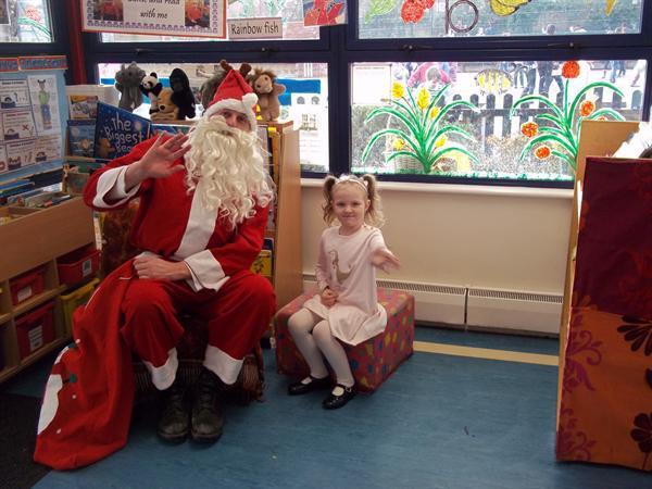 Father Christmas visit