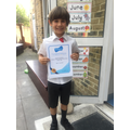 Another GOLD certificate! Super job Thomas :)