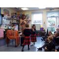 Margaret Bateson Hill visit