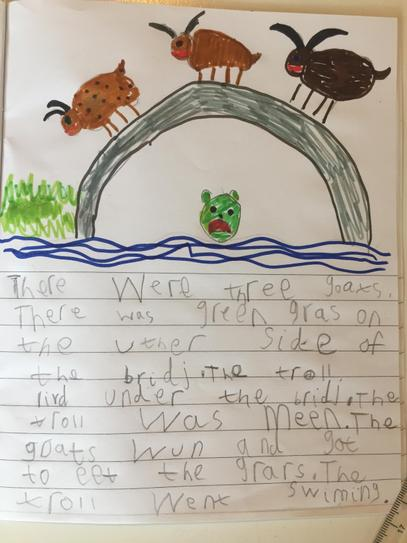 'Billy Goats Gruff' Story by Casper