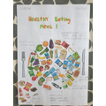 Great healthy eating sorting by Lourenco.