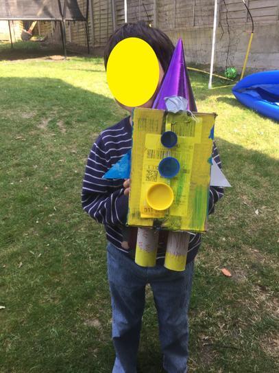Junk Modelling Rocket by Casper