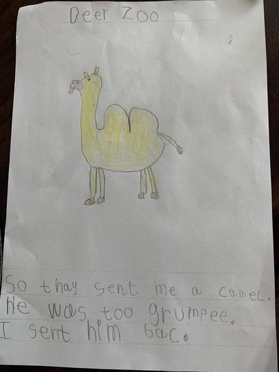 Dear Zoo Story by Cian