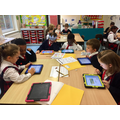 We used the iPads for Mathletics