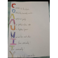 An Acrostic poem about the Community