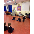 This term we have been creating dances in PE