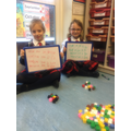 We are learning about halving