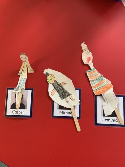 Hansel & Gretel Puppets by Casper, Michael &Jemima