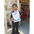 Our first GOLD Mathletics certificate! WOW Lucca!