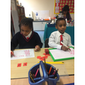 Rearranging subtraction sums in two different ways