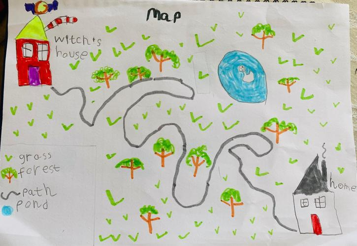 Hansel and Gretel Map by Cian