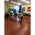 Learning balance in our gymnastics topic