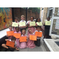 Outstanding behaviour and effort awards