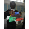 Yr 2 had a great time designing their own vehicle.
