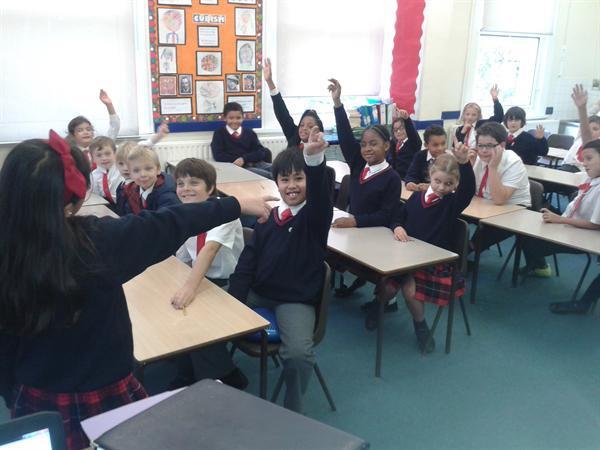 A School Council meeting in progress