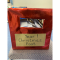 Look how full our Christmas mailbox is!