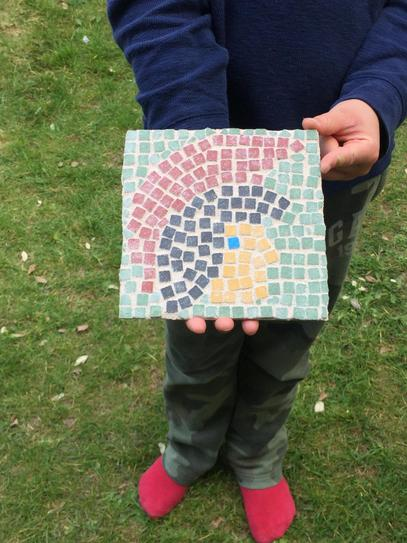 Hector's Roman mosaic