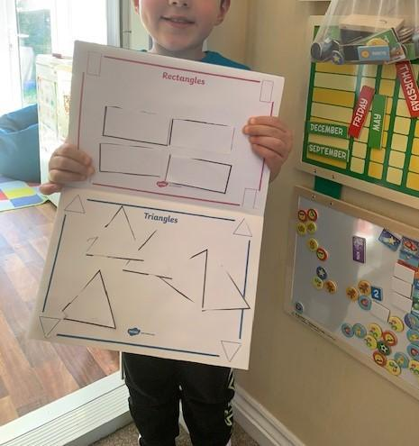 2D Shape Sorting by Samuel