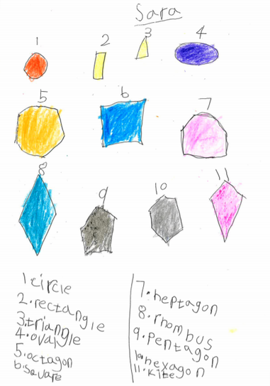2D Shapes by Sara