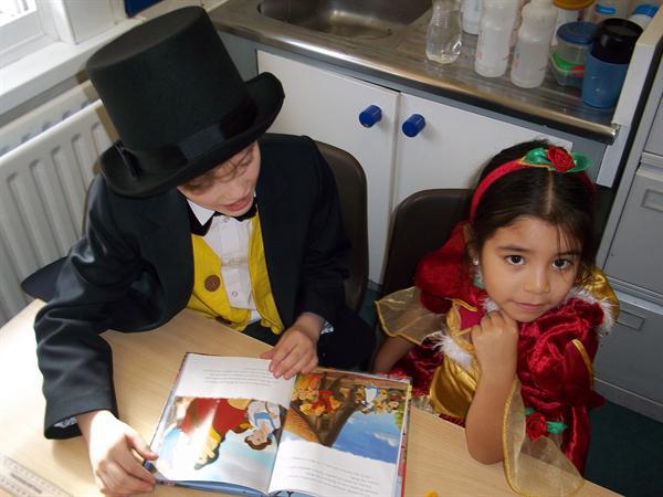 Reading together on World Book Day