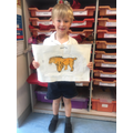 Harry's wonderful tracing paper art piece
