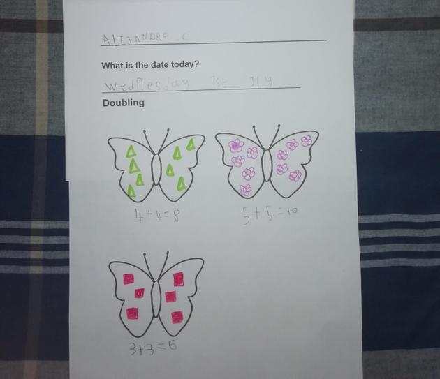 Butterfly Doubling by Alejandro