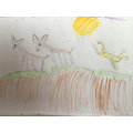 A great picture of the Leopard and Impala by Annie