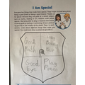 A beautiful special shield by Malachi.